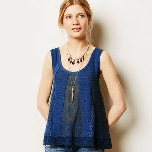 Meadow Rue Carrigan Swing Tank In Blue